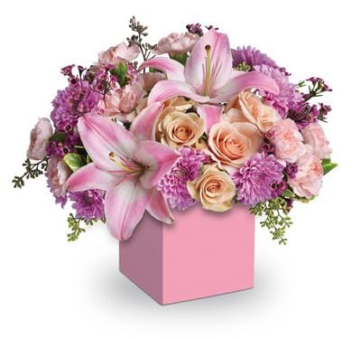 Wonderful in corrimal , pink domino florist