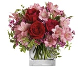 Hearts Treasure in corrimal , pink domino florist