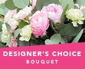 Designer's Choice Bouquet in seville grove , kiss kiss bloom