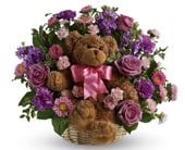 Cuddles for Her in corrimal , pink domino florist