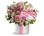Hats Off to Pink in canberra , janines florist