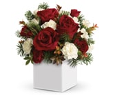 Hugs at Christmas in midland , abunch flowers midland florist