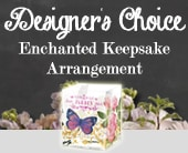 Designer's Choice Enchanted Keepsake Arrangement in Hobart , Florist Works - Hobart Flowers