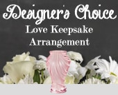 Designer's Choice Love Keepsake Arrangement in lake cathie, port macquarie , lyn's bloom room