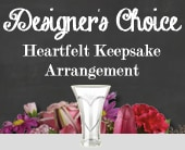 Designer's Choice Heartfelt Keepsake Arrangement in smithfield , smithfield florist