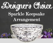 Designer's Choice Sparkle Keepsake Arrangement in willoughby , willoughby florist