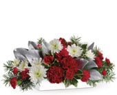 Christmas Magic in orange , pick me flowers and gifts