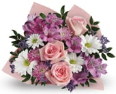 Love You Mum in corrimal , pink domino florist