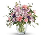 Pretty in Pastel in orange , pick me flowers and gifts