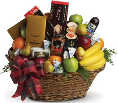 Ultimate Christmas Basket in Clayton, Melbourne , Abbadeen Florist