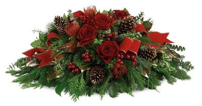 Christmas Glow for flower delivery New Zealand wide