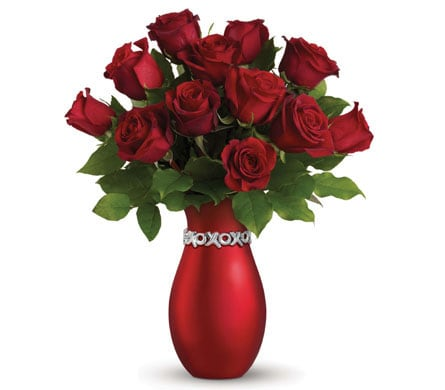 XOXO Passion for flower delivery New Zealand wide