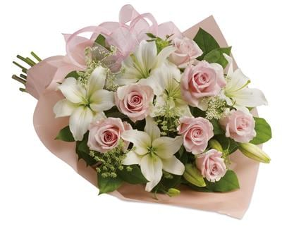 Pinking of You in Toowoomba , Florists Flower Shop Toowoomba
