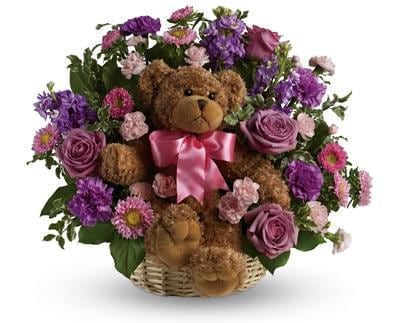 Cuddles for Her for flower delivery Australia wide
