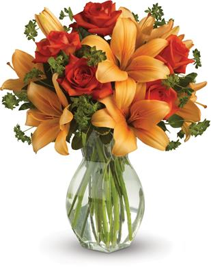 Fiery Beauty in Cessnock , Bluebird Florist Cessnock