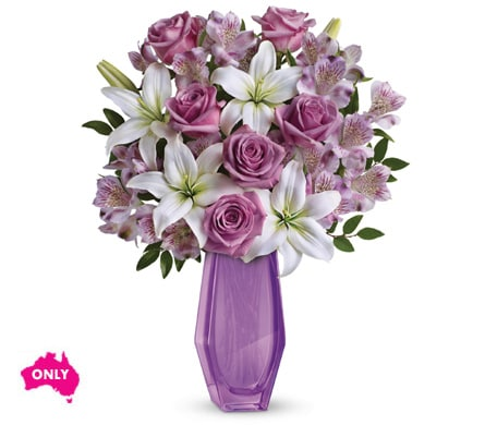 Lavender Beauty in Brisbane Cbd , Florists Flower Shop Brisbane