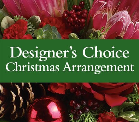 Designer's Choice Christmas Arrangement in Kaleen , Kaleen Florist