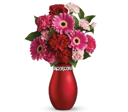 XOXO Blush in Orange NSW, Bradley's Florist
