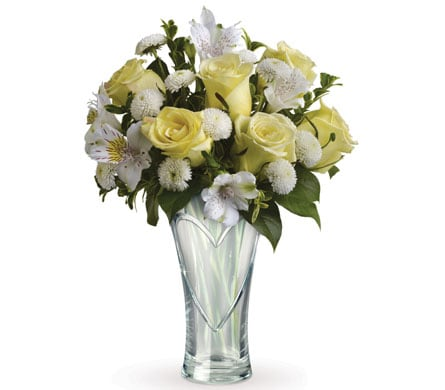 Heartfelt Treasure for flower delivery New Zealand wide