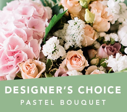 Designer's Choice Pastel Bouquet in Lake Cathie, Port Macquarie , Lyn's Bloom Room