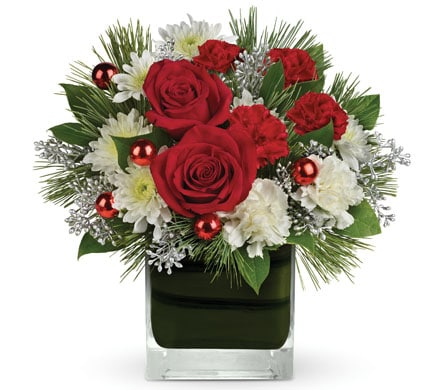 Christmas Glitter for flower delivery Australia wide