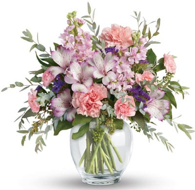 Pretty in Pastel for flower delivery New Zealand wide