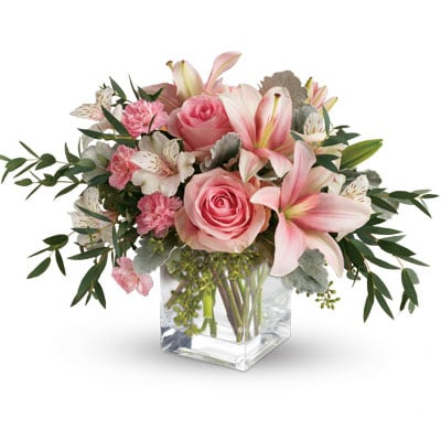 Pink Flora for flower delivery Australia wide