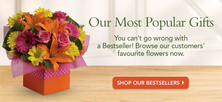 Shop Our Bestselling Flowers