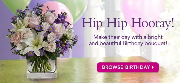 Make Their Day With A Birthday Bouquet