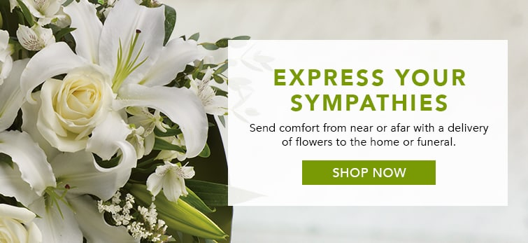 Express Your Sympathies With A Delivery Of Flowers