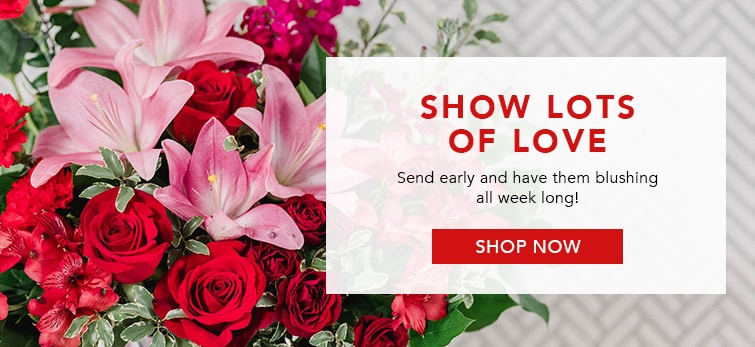 Shop Our Valentine's Day Flowers